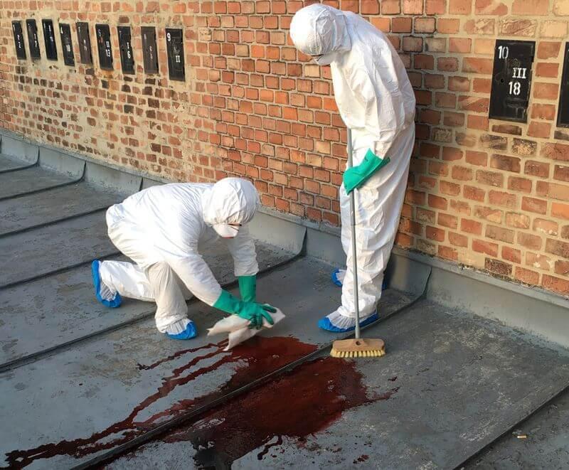 Limpieza de homicidios