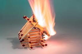 como proceder despues de un incendio en el hogar