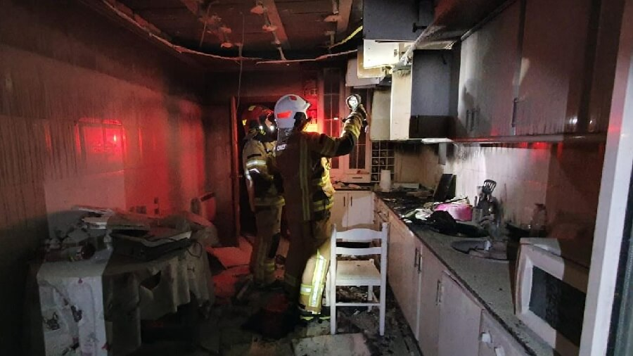 limpiar humo y hollin de incendio